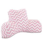 Majestic Home Goods Indoor Chevron Reading Pillows
