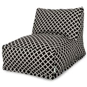 Majestic Home Goods Outdoor Polyester Bamboo Bean Bag Chair Loungers