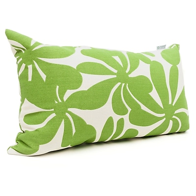 Majestic Home Goods Indoor/Outdoor Plantation Small Pillow, Sage