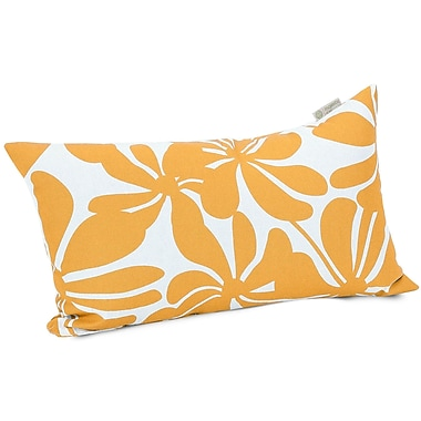Majestic Home Goods Indoor/Outdoor Plantation Small Pillow, Yellow