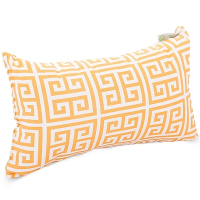 Majestic Home Goods Indoor/Outdoor Towers Small Pillow, Citrus