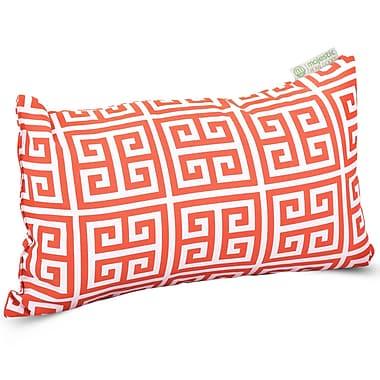 Majestic Home Goods Indoor/Outdoor Towers Small Pillow, Orange