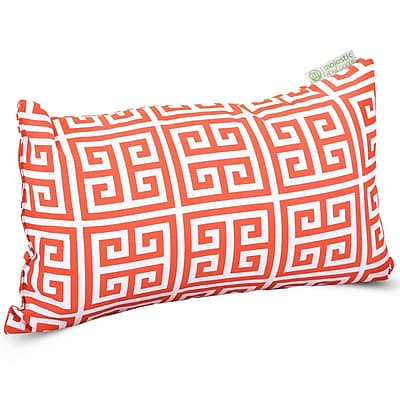 Majestic Home Goods Indoor/Outdoor Towers Small Pillow, Orange