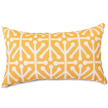 Majestic Home Goods Indoor/Outdoor Aruba Small Pillow, Citrus
