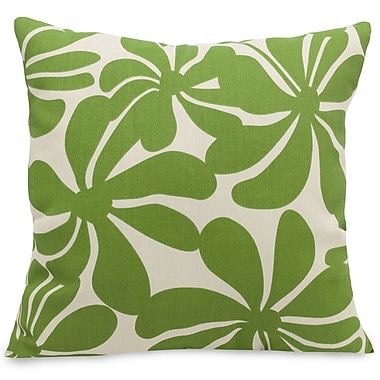 Majestic Home Goods Indoor/Outdoor Plantation Large Pillow, Sage