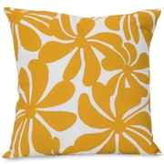 Majestic Home Goods Indoor/Outdoor Plantation Large Pillow, Yellow
