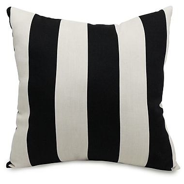 Majestic Home Goods Indoor/Outdoor Vertical Stripe Large Pillows