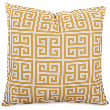 Majestic Home Goods Indoor/Outdoor Towers Extra Large Pillow, Citrus