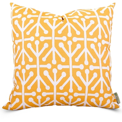 Majestic Home Goods Indoor/Outdoor Aruba Extra Large Pillow, Citrus