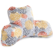 Majestic Home Goods Outdoor/Indoor Blooms Reading Pillow, Citrus