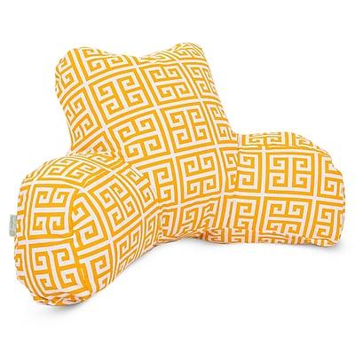 Majestic Home Goods Outdoor/Indoor Towers Reading Pillow, Citrus