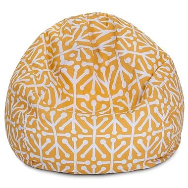 Majestic Home Goods Indoor/Outdoor Polyester Bean Bag Chair, Citrus (85907224084)