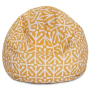 Majestic Home Goods Indoor/Outdoor Polyester Bean Bag Chair, Citrus (85907224084)