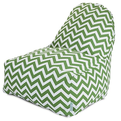 Majestic Home Goods Indoor/Outdoor Polyester Bean Bag Chair, Sage (85907227027)
