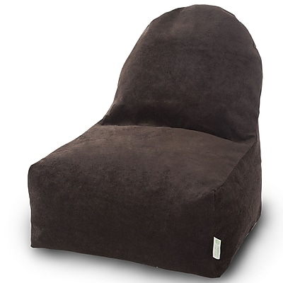 Majestic Home Goods Indoor Polyester Bean Bag Chair, Storm (85907251090)