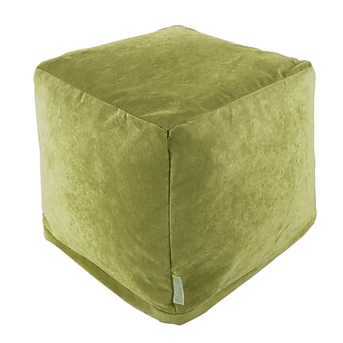 Majestic Home Goods Indoor Villa Polyester Micro-Velvet Small Cubes