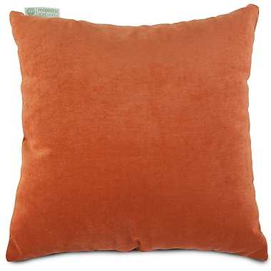 Majestic Home Goods Indoor Villa Large Pillow, Orange