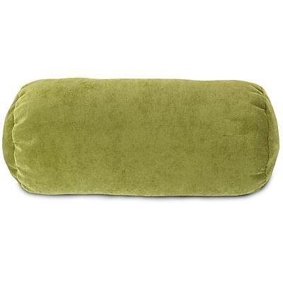 Majestic Home Goods Indoor Villa Round Bolster Pillow, Apple
