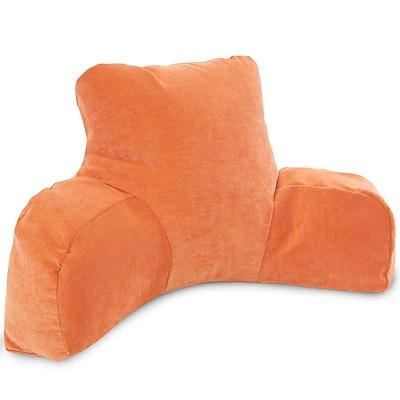 Majestic Home Goods Indoor Villa Reading Pillow, Orange