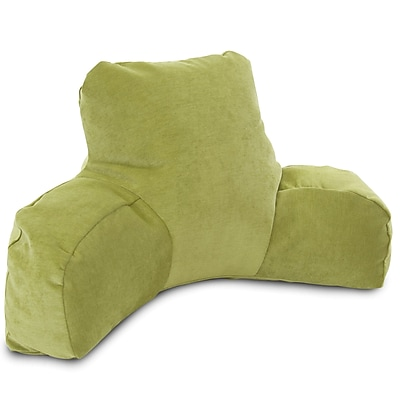 Majestic Home Goods Indoor Villa Reading Pillow, Apple