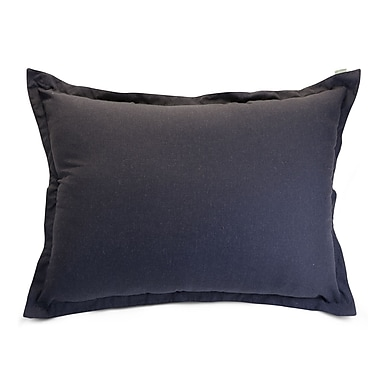 Majestic Home Goods Indoor Wales Floor Pillow, Navy