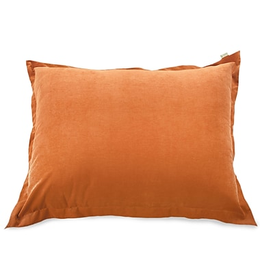 Majestic Home Goods Indoor Villa Floor Pillow, Orange
