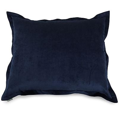Majestic Home Goods Indoor Villa Floor Pillow, Navy