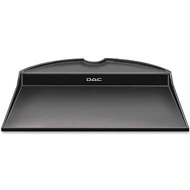 DAC – Space Saver, système de réduction de l'encombrement avec tablette à usage multiple pour bras d'écran, noir