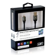 LBT Apple Approved Smart Lightning Knitted Cable, 5'