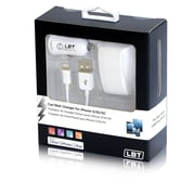 LBT Apple Approved Home and Car Charger Kit