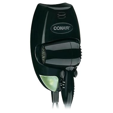 Conair® 1600 Watt Wall Mount Hair Dryer, Black