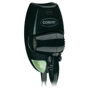 Conair® 1600 Watt Wall Mount Hair Dryer, Black