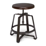 OFM Endure Series Wood Small Stool, Walnut (921-WNT)