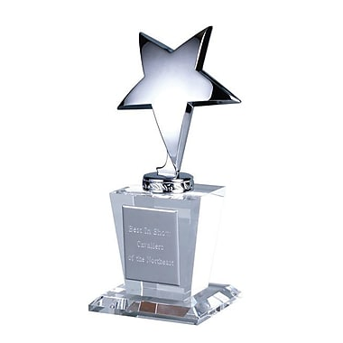 Chass Star Glass Trophy Award