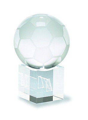 Chass Soccer Ball and Goal 3D Laser Sport Award WYF078275390942