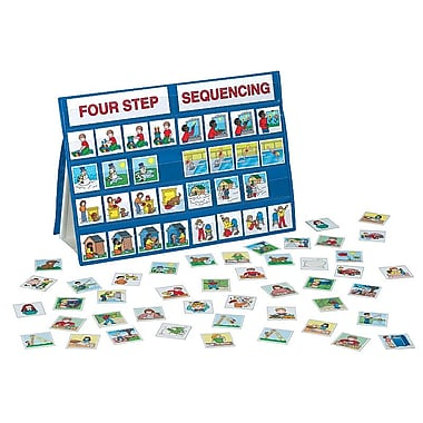 Patch Products 4 Step Sequencing Tabletop Pocket Chart