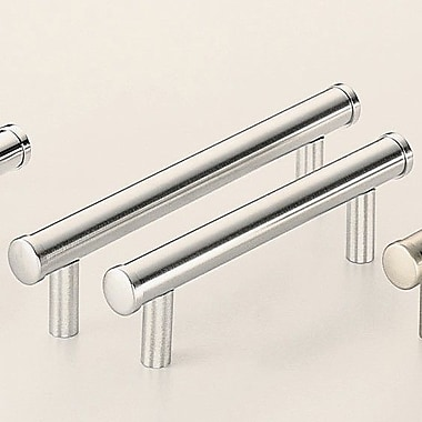 Omnia Classic & Modern 4'' Center Bar Pull; Satin Chrome Plated