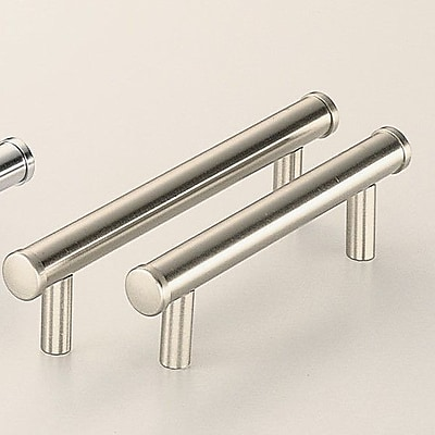 Omnia Classic & Modern 5'' Center Bar Pull; Polished Nickel Plated