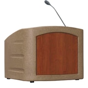 Summit Lecterns Dan James Original Integrator Tabletop Lectern; Beige