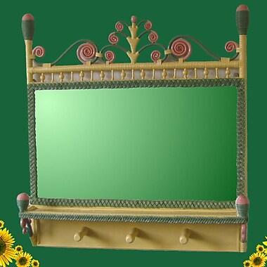Yesteryear Victorian Coat Rack Mirror; Carousel
