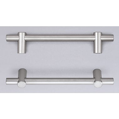 Omnia Stainless Steel Cabinet 5'' Center Appliance Pull