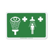 Speakman Emergency Shower and Eyewash Sign