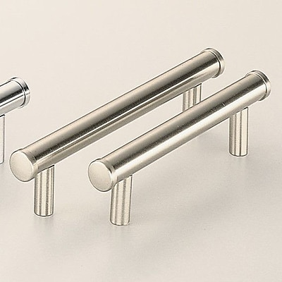 Omnia Classic & Modern 4'' Center Bar Pull; Polished Nickel Plated