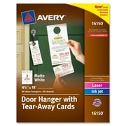 Avery Door Hanger Flash Cards