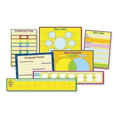 CARSON-DELLOSA PUBLISHING Graphic Organizer Chart Set