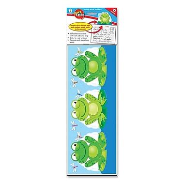 CARSON-DELLOSA PUBLISHING Frog Good Work Holders Bulletin Board Cut Out