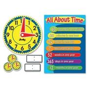 CARSON-DELLOSA PUBLISHING Clock Bulletin Board Cut Out Set