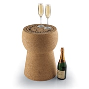 Wine Enthusiast Companies Giant Champagne Cork Stool/Table