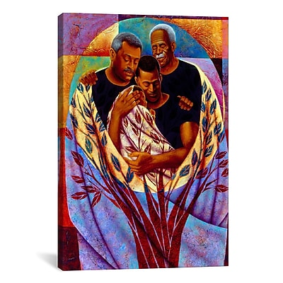 iCanvas 'From Strong Roots' by Keith Mallett Painting Print on Canvas; 26'' H x 18'' W x 1.5'' D