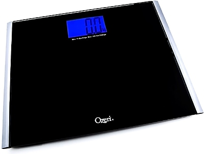 Ozeri Precision Pro II Digital Bath Scale (440 lbs Capacity) w/ Weight Change Detection Technology
